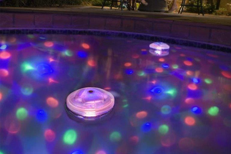 luce per vasca da bagno - floating lights - originali regali - Luce Vasca Da Bagno